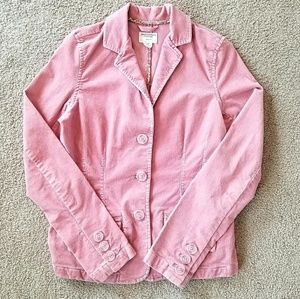 American Eagle Dusty Blush Courdory Blazer